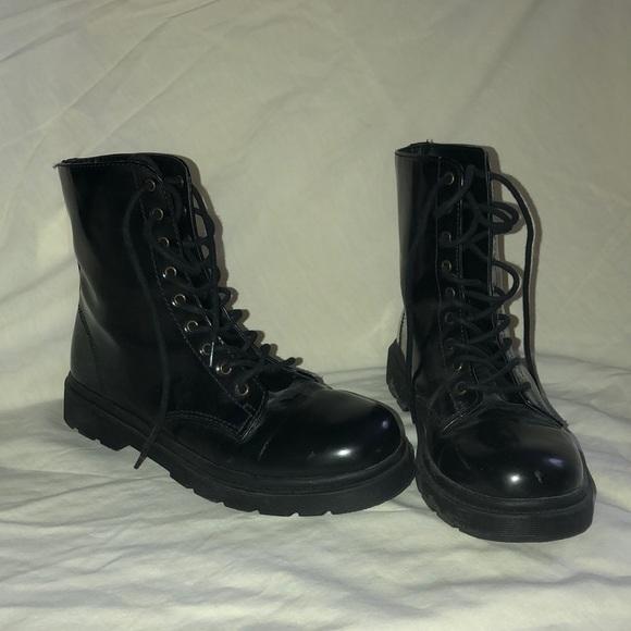 7790cd60227dd Forever 21 Shoes | Knockoff Black Doc Martens | Poshmark